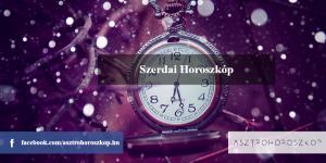 Szerdai Horoszkóp