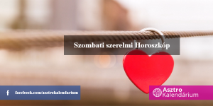 Napi Szerelmi Horoszkópok - 2018-11-03