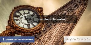 Szombati Horoszkóp